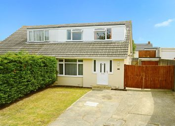 Thumbnail 4 bed semi-detached house for sale in Scarf Road, Canford Heath, Poole BH17.