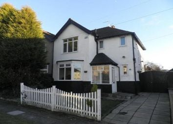 Thumbnail 3 bed property to rent in Wembley Road, Mossley Hill, Liverpool
