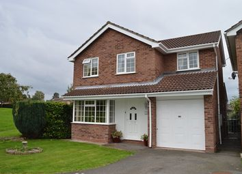 Thumbnail 4 bed detached house for sale in Forest Road, Market Drayton