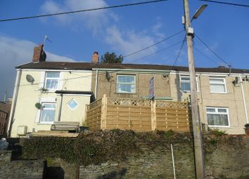 Thumbnail 2 bed terraced house for sale in Alltwen Hill, Alltwen, Pontardawe, Swansea.