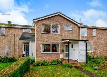 Thumbnail 3 bedroom terraced house for sale in Honey Meade Close, Stanton, Bury St. Edmunds