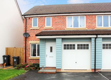 Thumbnail 3 bedroom semi-detached house for sale in Leonides Avenue, Hayward Village, Weston-Super-Mare