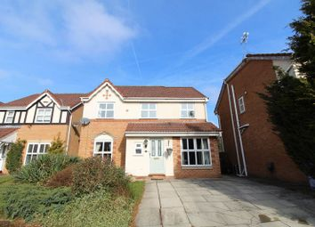 Thumbnail 3 bed detached house for sale in Godmond Hall Drive, Worsley, Manchester