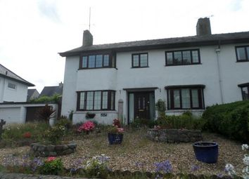 Thumbnail 4 bed semi-detached house for sale in 18, Llys Meirion, Caernarfon