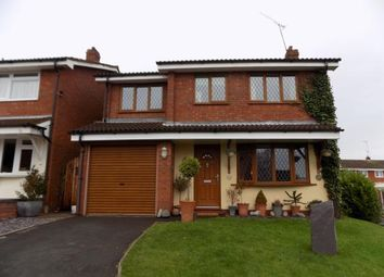 Thumbnail 4 bed detached house for sale in Addison Close, Nuneaton, Warwickshire, .