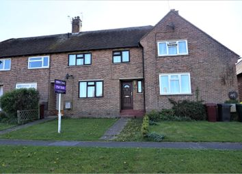 Thumbnail 3 bed terraced house for sale in St Nicholas Road, Chichester