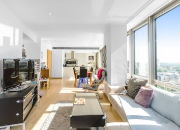 Thumbnail 2 bedroom flat for sale in Hertsmere Road, Canary Wharf