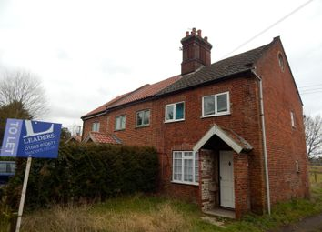 Thumbnail 2 bedroom semi-detached house to rent in Old Watton Road, Colney, Norwich