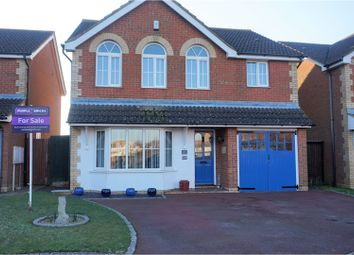 Thumbnail 4 bed detached house for sale in Dehavilland Close, Hawkinge