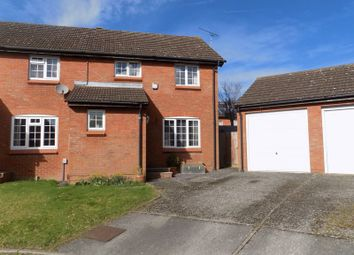 Thumbnail 3 bed semi-detached house for sale in Highwood Close, Swindon