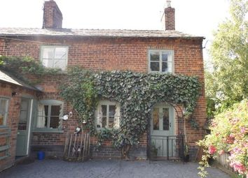 Thumbnail 1 bed equestrian property for sale in Newsbank Cottage, Somerford Booths, Congleton, Cheshire
