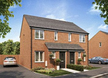Thumbnail 2 bed town house for sale in Ward Road, Clipstone Village, Mansfield