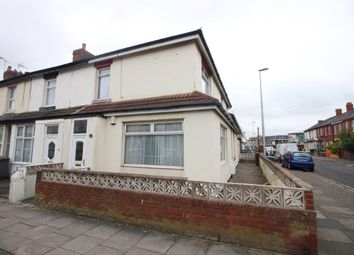 Thumbnail 3 bedroom end terrace house for sale in Cocker Street, Blackpool, Lancashire