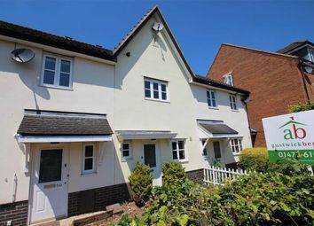 Thumbnail 2 bed terraced house for sale in Wilkinson Drive, Grange Farm, Kesgrave, Ipswich