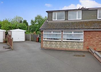 Thumbnail 3 bed semi-detached bungalow for sale in Balmoral Drive, Cannock, Staffordshire