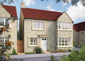 "Thumbnail 4 bed detached house for sale in ""The Canterbury"" at Bancombe Road, Somerton"