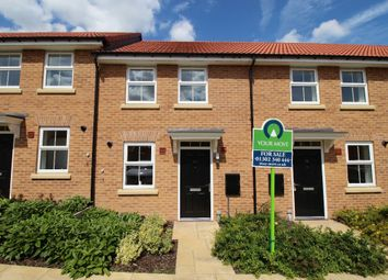 Thumbnail 2 bed terraced house for sale in Sandhills Way, Branton, Doncaster