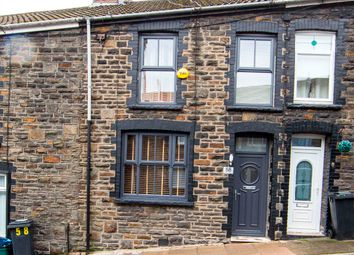 Thumbnail 3 bed terraced house for sale in Webster Street, Treharris