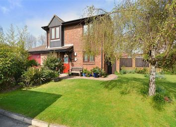 Thumbnail 3 bed detached house for sale in Knights Garden, Hailsham