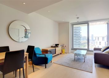 Thumbnail 1 bed flat for sale in Charrington Tower, Biscayne Avenue, London