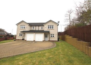 Thumbnail 3 bedroom semi-detached house to rent in Baxter Brae, Cleland, Motherwell