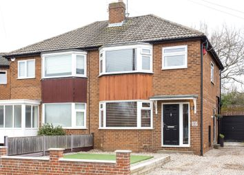 Thumbnail 3 bed semi-detached house for sale in Garth Drive, Leeds, West Yorkshire