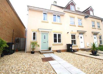 Thumbnail 3 bed end terrace house for sale in Morse Road, Norton Fitzwarren, Taunton