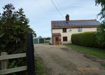 Thumbnail 2 bed cottage to rent in Castle Road, Mettingham, Bungay