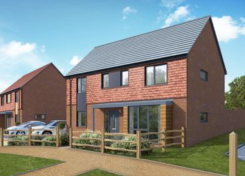 Thumbnail 4 bedroom detached house for sale in Camp Road, Bordon