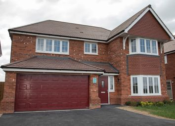 Thumbnail 4 bed detached house for sale in The Llandrillo, Plot 109, Audlem Road, Audlem, Cheshire