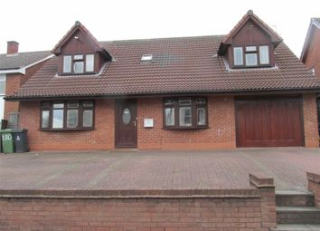 Thumbnail 5 bedroom detached house to rent in Walsall Road, Darlaston, Wednesbury
