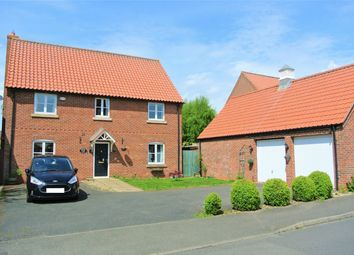 Thumbnail 4 bed detached house for sale in Pridmore Road, Corby Glen, Lincolnshire