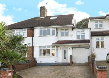 Thumbnail 5 bed semi-detached house for sale in Brownspring Drive, London