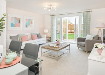 "Thumbnail 2 bed semi-detached house for sale in ""Wilford"" at East Walk, Yate, Bristol"