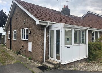 Thumbnail 2 bed semi-detached bungalow for sale in St Marys Avenue, Hemingbrough, Selby