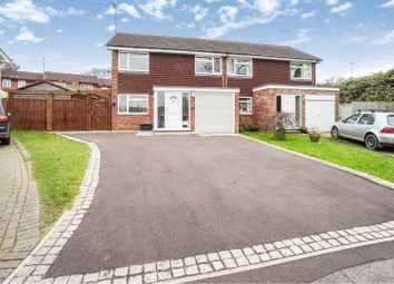 Thumbnail 3 bed semi-detached house for sale in Meadow Close, Southampton