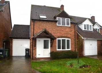 Thumbnail 3 bedroom link-detached house for sale in Grassmead, Thatcham