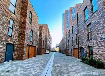 Thumbnail 3 bed town house to rent in Lockgate Mews, Manchester
