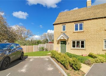 Thumbnail 3 bed semi-detached house for sale in June Lewis Way, Fairford, Gloucestershire