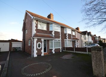 Thumbnail 3 bed semi-detached house for sale in Kingsville Road, Bebington, Wirral