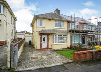Thumbnail 3 bed semi-detached house for sale in Howard Road, Plymstock, Plymouth