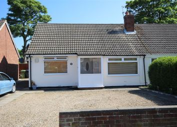 Thumbnail 4 bed semi-detached bungalow for sale in East Boldon Road, Cleadon Village, Cleadon