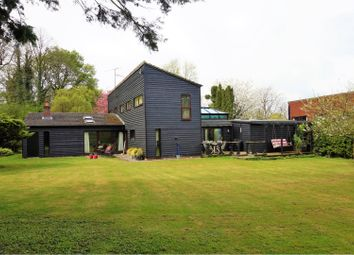 Thumbnail 4 bed detached house for sale in Parkway, Shudy Camps, Cambridge