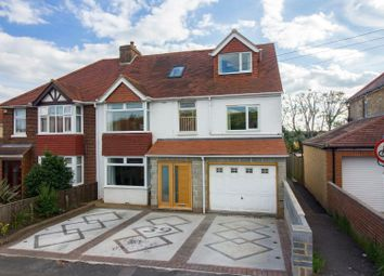 Thumbnail 6 bed semi-detached house for sale in Downs Road, Folkestone