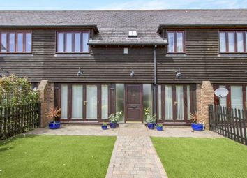 Thumbnail 3 bed terraced house for sale in Lake Farm Close, Ferndown