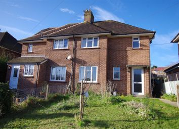 Thumbnail 3 bed semi-detached house for sale in Cross Way, Lewes