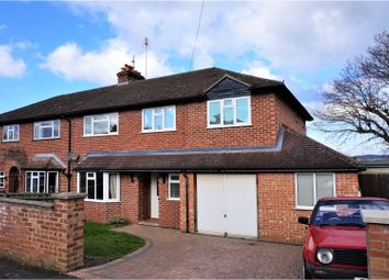 Thumbnail 4 bed semi-detached house for sale in Croft Road, Newbury