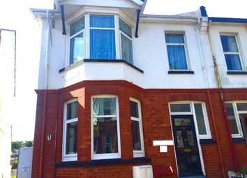 Thumbnail 1 bed flat to rent in Conway Road, Paignton