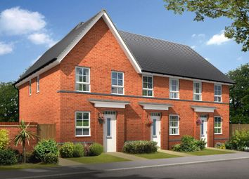 "Thumbnail 2 bed semi-detached house for sale in ""Tiverton"" at Armitage Road, Rugeley"
