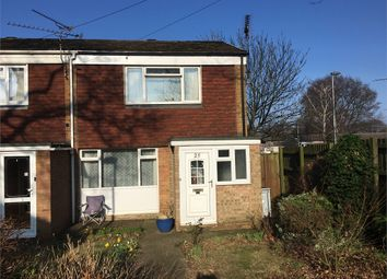 Thumbnail 2 bed end terrace house for sale in Rycaut Close, Gillingham, Kent.